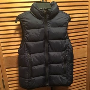 Gap Navy Blue Puffer Vest